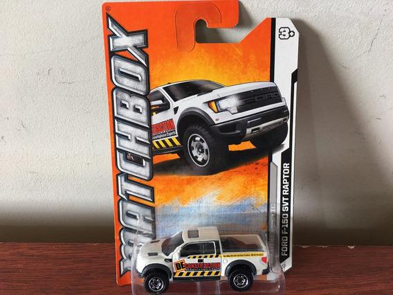 Mini Pickup Ford F-150 Svt Raptor Da Matchbox Na Escala 1/64