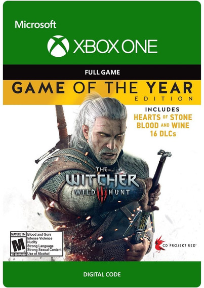 The Witcher 3 - Xbox One - Codigo 25 Digitos Complete Dlc