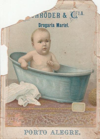 Cartão Antigo - Não Postal - Drogaria Martel - Porto A - G