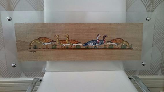 Papiro Egípcio Importado, Original, Decorativo ! - Patos.