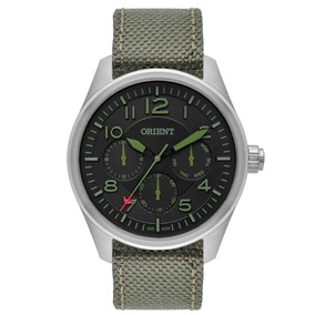 Relógio Orient Mbsnm002 Original Sport Pulseira De Nylon