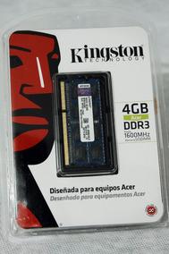 Memória Para Notebook Kingston 4gb Kac-memk/4glr