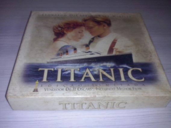 Box 2 Fita Casset Titanic Com Fotos Lindo !