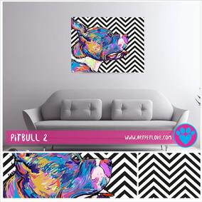 Cuadro Art Pet Love - Pitbull 2.