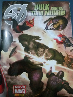 Hq Os Vingadores - Hulk Contra Todo Mundo - Nº 22