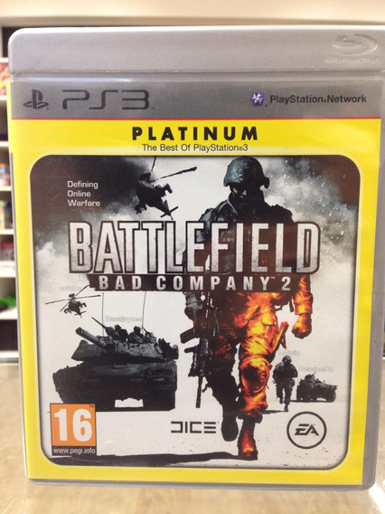 Battlefield 2 Bad Company Ps3 Completo