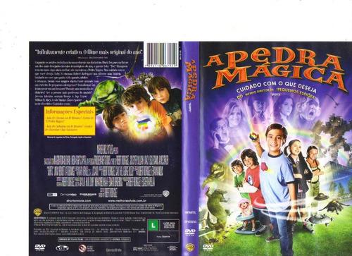 Dvd A Pedra Mágica - Infantil - Original