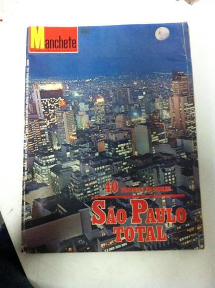 Manchete Julho 1975 São Paulo Total Em Cores