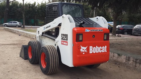 Vendo Minicargadora Bob Cat S220hf Excelente Muy Buen Estado