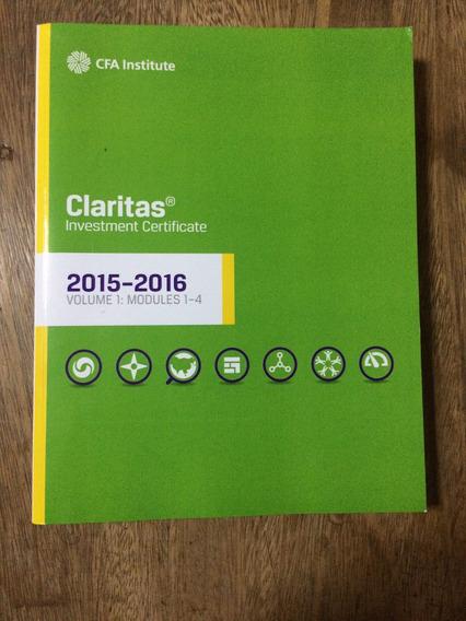 Claritas® Investment Certificate 2015-2016