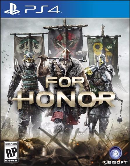 Jogo Novo Mídia Física For Honor Original Playstation 4