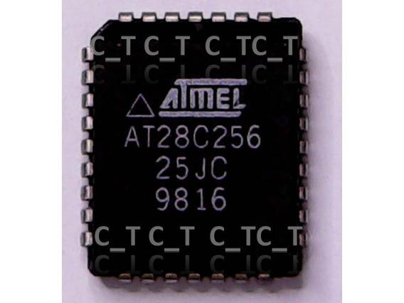 Memoria Eprom 27c256 28c256 Plcc32 - Envio Por Carta