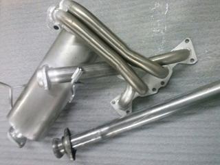 Caños Silen Equipo Completo Peugeot 206 / 207 1.6 16v