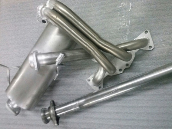 Caños Silen Equipo Completo Peugeot 206 / 207 1.6 16v