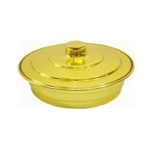 Bandeja Santa Ceia Para 56 Cálices Dourada +cálices Plástico