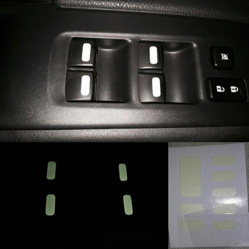 Imagem 1 de 2 de Kit Aplique Dos Botões Vidros + Travas De Portas Lancer