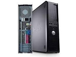 Computador Dell Optiplex 780 Core 2 Duo 3.0ghz, 4gb, Hd 250