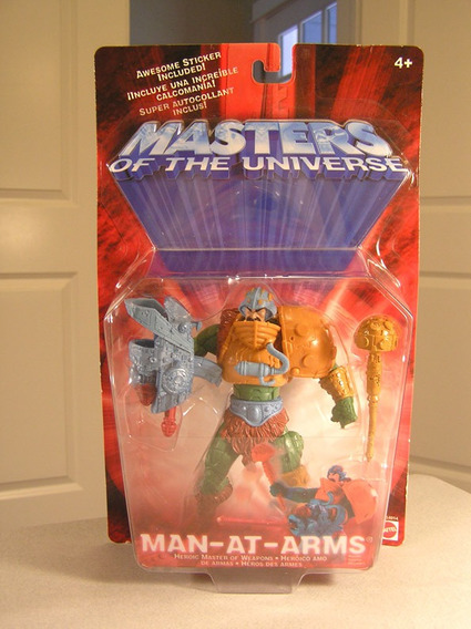 Man-at-arms Figura Coleccion Master Of The Universe (he-man)