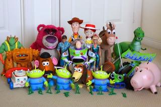 Grandes Colección De 4 Juguetes Toy Story