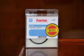 Filtro Uv 62mm Hama Para Lente De Câmera Fotográfica - Novo