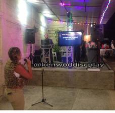Alquiler De Karaoke Sonido E Iluminacion Tv Pantallas Truss