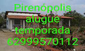 Alugue Temporada Pirenopolis