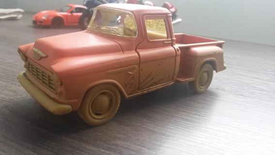 Miniatura Realistica Chevrolet Chevy 3100 Modelo Com Lama