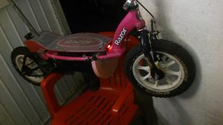 Scooter Modificado A Pedales Y Electrica