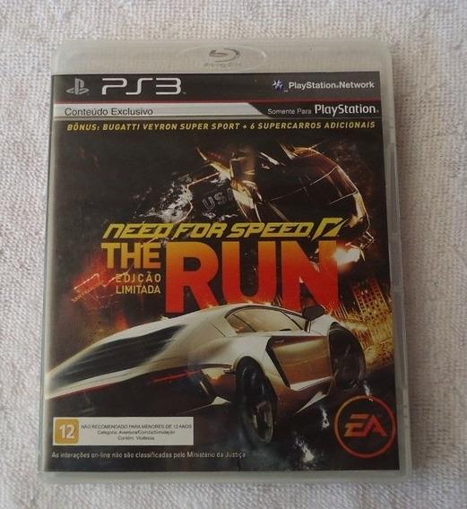 Need For Speed The Run Ps3 ** Frete Gratis Leia