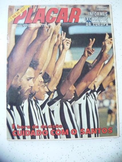 Revista Placar 144 Pos Ceará Pontes Inter Santos Gentil 1972