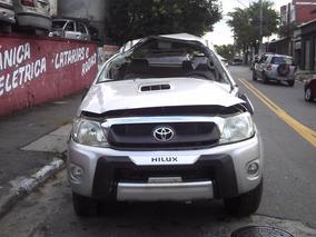 Sucata Toyota Hilux P/ Peças Motor Câmbio Lataria Acessórios