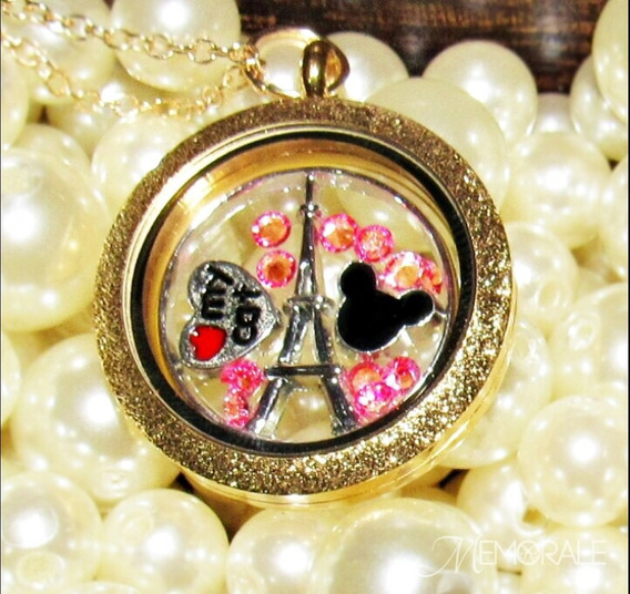Medalhão Da Vida - Paris (colar Personalizado) Presente