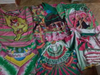 6 Camisas Da Escola De Samba Mangueira