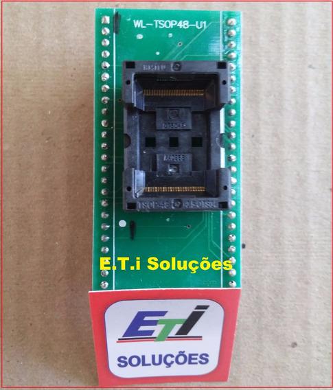 Adaptador Tsop48 0.5mm Universal Tnm5000 | Xeltek - Rt809h