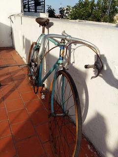 Bicicleta Peugeot Llantas De Madera Talle 53 Asiento Brooks