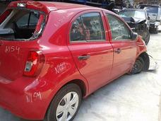 Sucata Nissan New March 1.6 Sv 2015 E 2016 Bartolomeu Peças