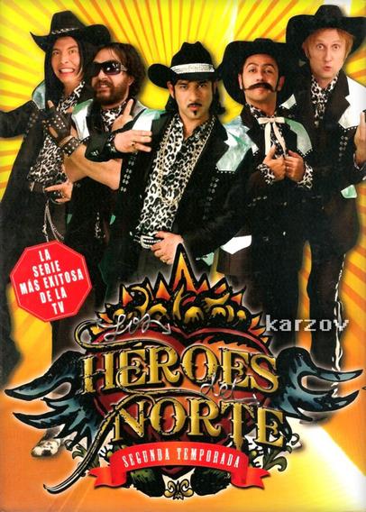 Heroes Del Norte Segunda Temporada 2 Dos Dvd