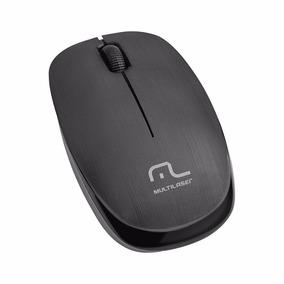 Kit 3 Mouse Sem Fio Multilaser 1200 Dpi Preto Usb - Mo251