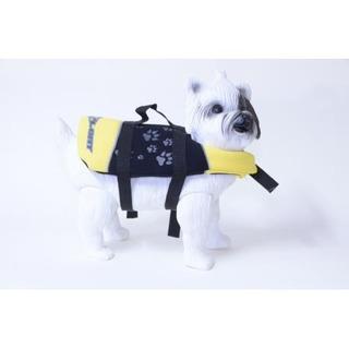 Colete X-float Para Cachorro Amarelo Tam Pp Cod 1143