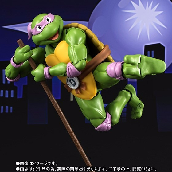 S.h. Figuarts Tartarugas Ninja Tmnt Donatello Bandai Turtle