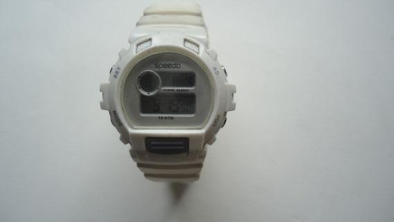 Relógio Speedo Digital Branco Unisex