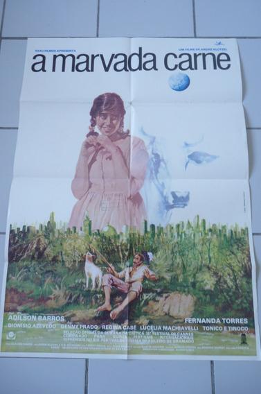 Marvada Carne De Andre Klotzel Cartaz Cinema 1985