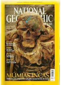 623 Rvt- 2002 Revista- Nat Geografic Br- Mai 25 Múmias Incas