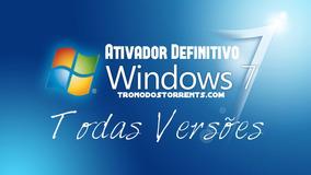 32/64 Bits Todas Versão Original Com Auto Ativação Windows7