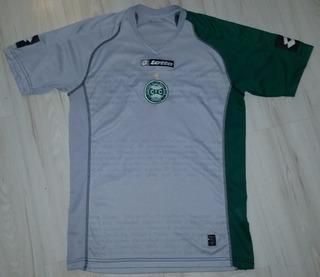 Camisa Do Coritiba 2007 Lotto #8 Comemorativa Série B