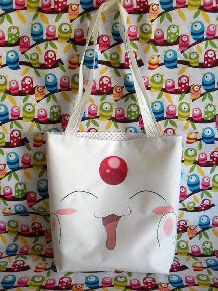 Mini Tote Bag Cartera De Anime Mokona Blanca Clamp