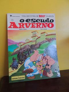 Hq Asterix O Escudo Arverno 11 Goscinny Uderzo 1985