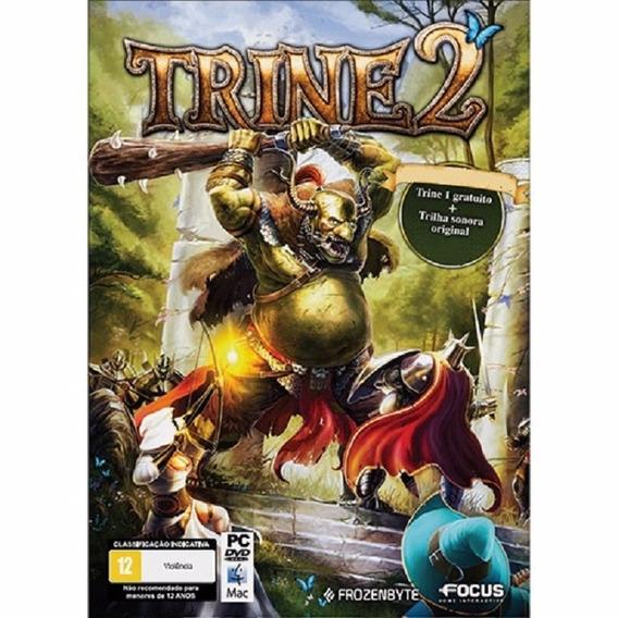 Game Usado Pc Trine 2 + Trine 1 Edicao Especial