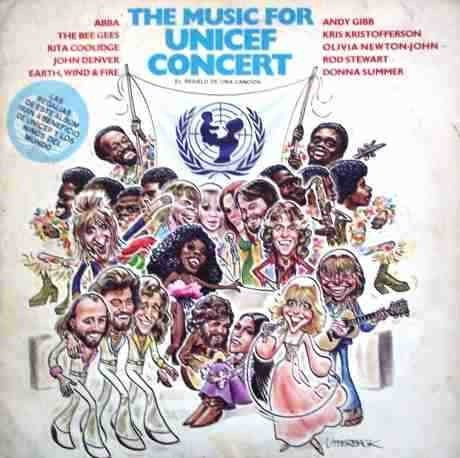 The Music For Unicef Concert Abba Bee Gees 1979!!