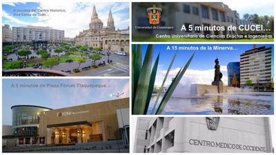 Departamento A 10 Minutos Del Centro D Zapopan O Guadalajara